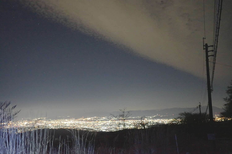 積雪・背振山頂から|探偵事件簿-福岡