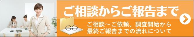 探偵 福岡の興信所 ご相談からご報告までの流れ