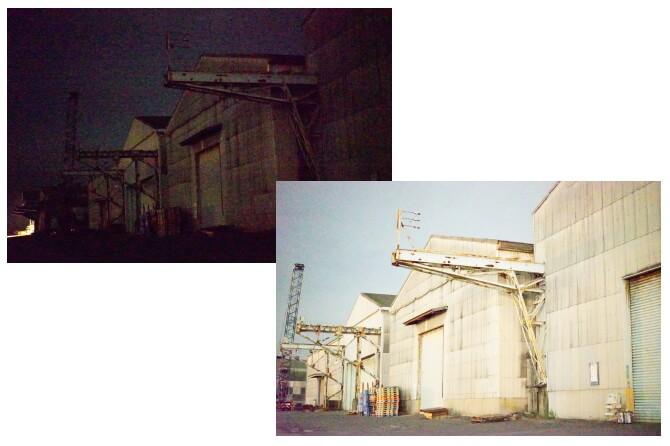 探偵事務所の暗視カメラの見え方比較