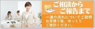 当探偵・福岡事務所のご依頼の流れ