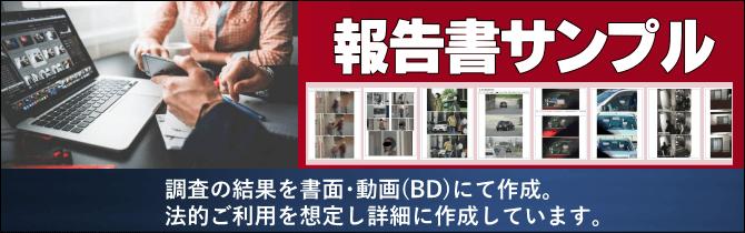 探偵 福岡の興信所 報告書サンプル